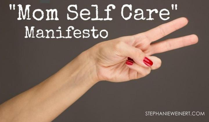My Self Care Manifesto